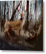 Wounded Wanderer Metal Print