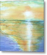 Wow Sunset Metal Print