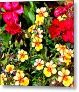 Wp Floral Study 1 2014 Metal Print