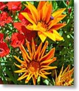 Wp Floral Study 5 2014 Metal Print