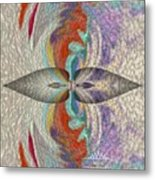 Wrap Oil Art Painting  Metal Print