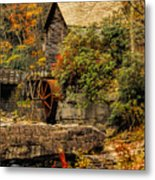 Wrapped In Autumn Metal Print