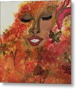 Wrapped In Bliss Metal Print