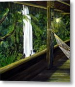 Wrapped In Paradise Metal Print