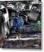Wrecking Yard Study 12 Metal Print