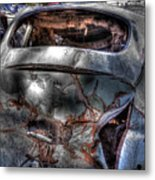 Wrecking Yard Study 2 Metal Print
