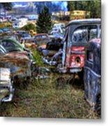 Wrecking Yard Study 21 Metal Print