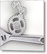 Wrench Metal Print by Blink Images