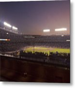 Wrigley Field At Dusk 2 Metal Print