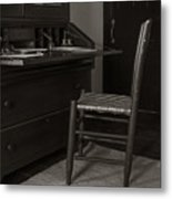 Writing Desk Metal Print