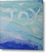 Written In The Clouds Metal Print
