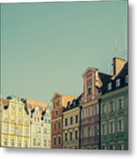 Wroclaw Architecture Metal Print