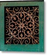 Wrought Iron Circle Metal Print