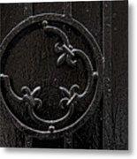 Wrought Iron Design Metal Print by Robert Ullmann
