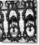 Wrought Iron Gate -west Epping Nh Usa Metal Print