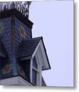 Wrought Iron Roof Top Metal Print