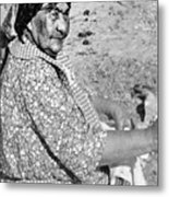 Wuzzie Northern Paiute Metal Print