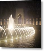 Ww 2 Memorial Fountain Metal Print