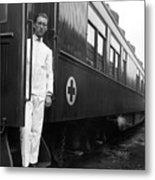Ww I: Red Cross Railroad Metal Print
