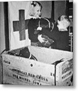 Ww II: Red Cross, C1942-43 Metal Print