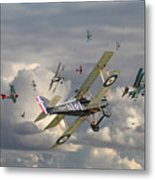 Ww1 - 'wings' Metal Print