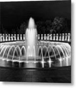 Ww2 Memorial Fountain Metal Print
