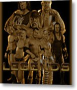 Wwe Legends By Gbs Metal Print