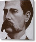 Wyatt Earp 1848-1929, Legendary Western Metal Print by Everett