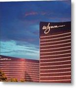 Wynn And Encore In Las Vegas Metal Print