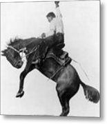 Wyoming: Cowboy, C1911 Metal Print