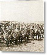 Wyoming: Cowboys, C1883 Metal Print