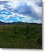Wyoming Glen  Metal Print