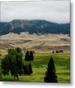 Wyoming Landscape 51a Metal Print
