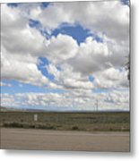 Wyoming Pet Area Metal Print