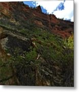 Wyoming Red Rocks Metal Print