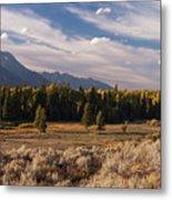 Wyoming Scenery One Metal Print