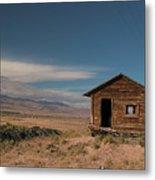 Wyoming Shack Metal Print