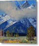 Wyoming Summer Metal Print