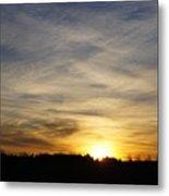 Wyoming Sunrise Metal Print