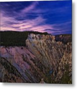 Wyoming Sunset Metal Print