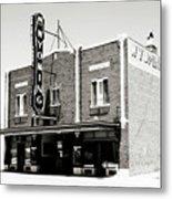 Wyoming Theater 2 Metal Print