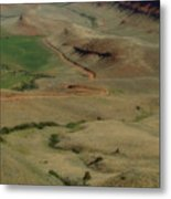 Wyoming Trail Metal Print
