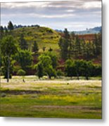 Wyoming Valley Metal Print