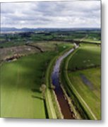 Wyre From The Air Metal Print