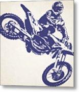 X Games Motocross 1 Metal Print