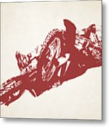X Games Motocross 2 Metal Print