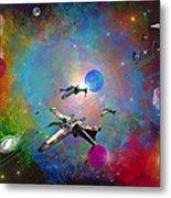X-wing Fighter Metal Print