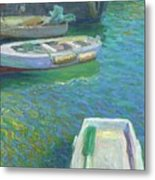 Xabia Harbour With Fishing Boats Metal Print