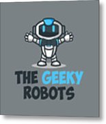 Xero The Robot Metal Print