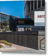 Xerox Tower Entrance Metal Print